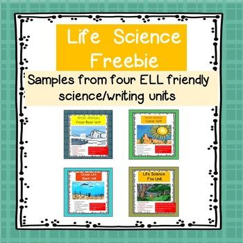 Life Science Sampler: Sharks, Foxes, Polar Bears & Camels