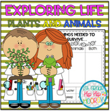 Life Science with Animals and Plants...NGSS 1st Grade