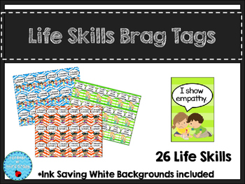 Life Skill Brag Tags