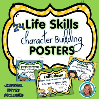 Life Skills Character Building Posters