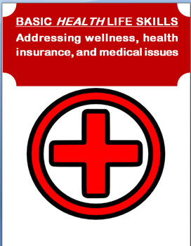 "Life Skills- ""Basic Health Life Skills""-Personal Health Ca"