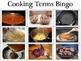 Life Skills - Cooking Terms Bingo