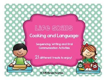 Life Skills: Cooking and Language - Sequencing, Writing an