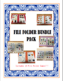 Life Skills- File Folder Bundle Pack Sorts and Picture Matches