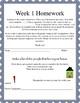 Life Skills Homework Packets Month 1