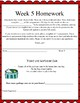 Life Skills Homework Packets Month 2