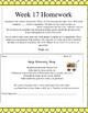 Life Skills Homework Packets Month 5