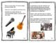 Life Skills Job Booklet: Singer