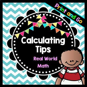 Life Skills Math, Money, and Reading: Calculating Tips Whe