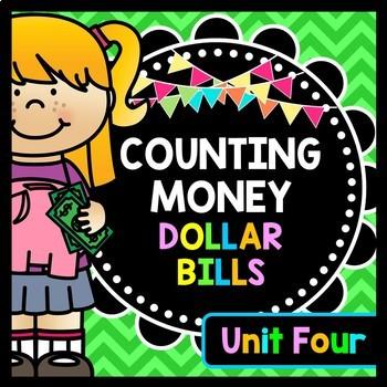Life Skills Money and Math - Counting Money - Dollar Bills