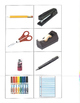 Life Skills- Office Supplies Picture Match (generalizing)