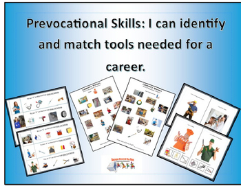 Life Skills/Prevocational skills: Community Workers Bundle
