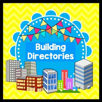 Life Skills Reading: Buildings, Floors, and Directories