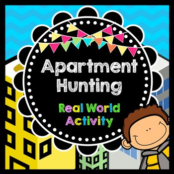 Life Skills Reading + Math: Apartment Hunting - Moving Out!