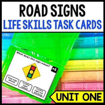Life Skills Reading: Road Signs and Driving Permit Practice