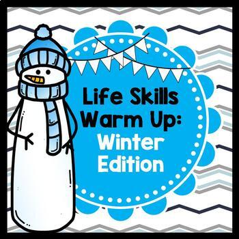 Life Skills Reading, Writing, + Math: Print and Go Warm Up