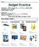Life Skills Reading and Math: Budgets Unit 2