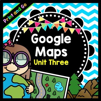 Life Skills Reading and Writing: Google Maps Scavenger Hun