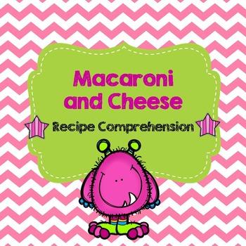 Life Skills Reading and Writing: Recipes - Macaroni and Cheese