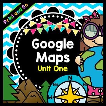 Life Skills Reading and Writing: Using Google Maps, Unit 1