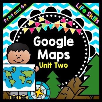 Life Skills Reading and Writing: Using Google Maps and Dir