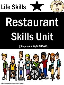 Life Skills - Restaurant Skills/Eating Out