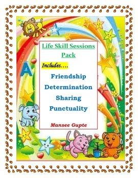 Life Skills Session Pack 2:Friendship, Determination, Shar