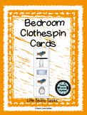 Life Skills Tasks: Bedroom Clothespin Cards