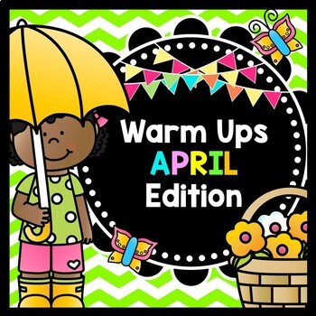 Life Skills Warm Ups: APRIL, Earth Day, and Spring Edition