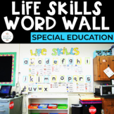 Life Skills Word Wall