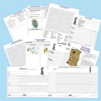 Life Skills Worksheets (Goal Setting, Problem Solving & Ti