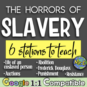 Life as an American Slave!  Students navigate through 6 st