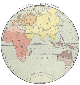 Life in the Eastern Hemisphere Activity!