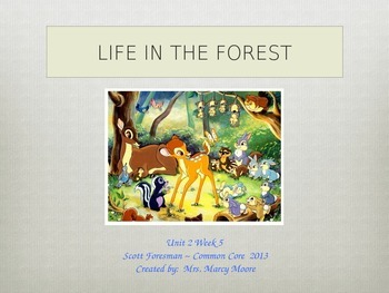 """""""Life in the Forest"""" (Instructional Guide for Reading Stre"""