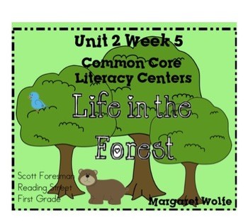 Life in the Forest Reading St Unit 2 Week 5 1st Gr. Common