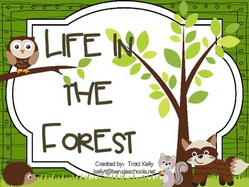 Life in the Forest - Scott Foresman 1st Grade