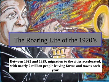 Life in the Roaring 20's Powerpoint