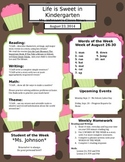 Life is Sweet Newsletter Template