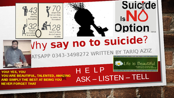 Life is a Beautiful and Whysay no to suicide