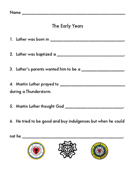 Life of Martin Luther