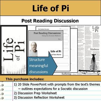 Life of Pi - Socratic Method - Post Reading Discussions