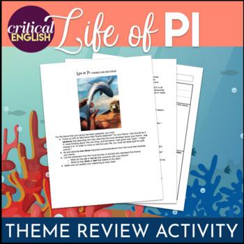 Life of Pi - Theme Development through Textual Evidence Gr