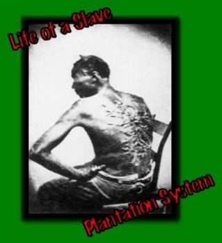 Slavery: Plantation System (7 of 9) Common Core and Constr