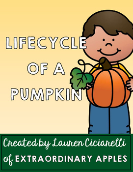 Lifecycle of a Pumpkin Sequencing Activity