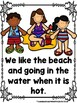 Lifeguards At The Beach (A Sight Word Emergent Reader)