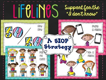 """Lifelines- Posters to Support the """"I Don't Know"""""""