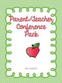 Lifesaver Parent Teacher Conference Packet
