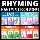 Lift-the-Flap Rhyming Name Book: 4 Versions