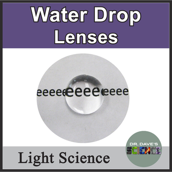 Light Activity: Water Drop Lens