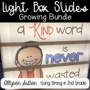 Lightbox Designs Growing Bundle